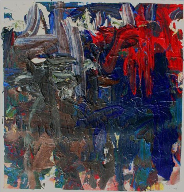 Burning Bush, Acrylic Painting by John Down