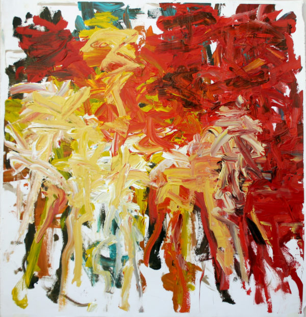Red & Yellow Conversation (2020) by John Down
