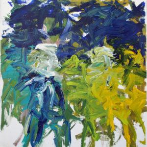 Yellow Rock & Blue Ocean (2020) by John Down